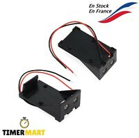 Boîtier Support batterie 9V Block Battery plastique Arduino Raspberry TimerMart