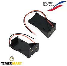Package Supporto Batteria 9V Block Batteria Plastica Arduino Raspberry Timermart