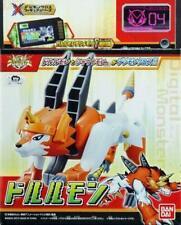 Bandai Digimon Digital Monsters Xros Wars Digi Dorulumon Figura de Acción 04-Fusion