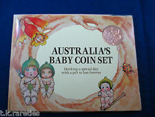 1995 Royal Australian Mint BABY mint uncirculated Set: - End of WWII - Gumnut