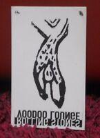 ADESIVO VETROFONIA - ROLLING STONES - VOODOO LOUNGE - NUOVO cm 10 x cm 8