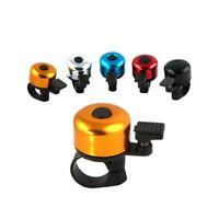 Mini Metal Bicycle Bike Ring Cycling Handlebar Bell Rolling Sound Alarm Safe