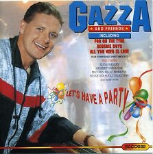 GAZZA AND FRIENDS Let's Have a Party 9 track 1992 EU RI CD w/ Lindisfarne, Elvis