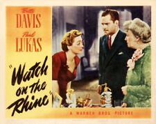 Watch on the Rhine Bette Davis movie poster print 2