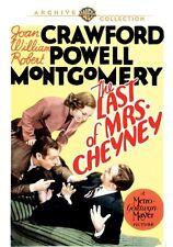 Last of Mrs. Cheyney DVD (1937) Joan Crawford, William Powell, Robert Montgomery