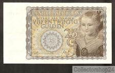 Nederland - Netherlands 25 Gulden Prinsesje 1940 Pr / Vf  - CD004379