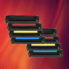 8 Toner 128A 2 Set for HP CE320A CE321A CE322A CE323A
