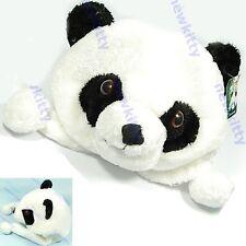 Cartoon Animal Cute Panda Earmuff Fluffy Plush Cap Hat