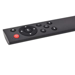 Souris d'air de clavier de télécommande sans fil noire 2.4G pour Android TV BW1F