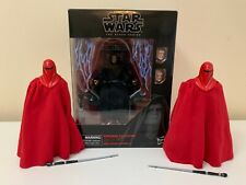 Star Wars The Black Series Emperor Palpatine 6 inch Action Figure with Throne