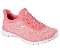 Skechers Women's Memory Foam EZ Flex 3.0 Swift N Sly Slip On Coral 23432/CRL