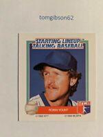 1988 Starting Lineup Talking Baseball Robin Yount #26 Free Shipping