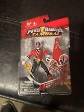 Bandai Saban's Power Rangers Samurai Ranger Fire Figure MIP