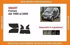 pellicola oscurante vetri pre tagliata smart fortwo dal 99-2006 kit completo