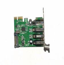 USB3 PCIE Carte Contrôleur PCI Express LOW PROFIL PCIe 4X Ports CARTE SEULE