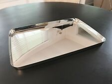 Alessi 19 Inch Mirror Polished Stainless Steel Tray Designed by Kriistina Lassus