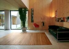 Alfombra Bambú stripes, Alfombra de Bambú Alfombra Salón NATURE, En 15 Tamaños