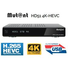 Mutant HD51 4K 320GB Twin Tuner Linux Enigma2 Digital Receiver Cable DVB-C/T/T2