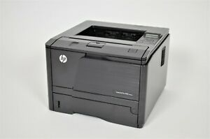 HP LaserJet Pro400 M401dne CF399A Duplex Netzwerk Laserdrucker 20.490 Seiten