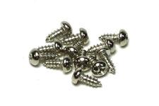 "Truss Rod Cover Screw #3 X 1/4"" Phillips Round Head Nickel qty.2"