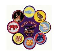 BOY SCOUT OFFICIAL 8in1 WOOD BADGE JUMBO EMBROIDERED JACKET DISPLAY PATCH EMBLEM