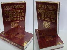 Signed Leather Edn Monster Hunter Vendetta by Larry Correia Hardback 2017 RARE