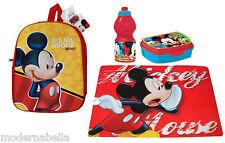 Topolino Mickey Mouse  zaino zainetto 3D,asilo,scuola,set merenda 31/7
