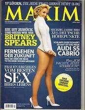 BRITNEY SPEARS German Maxim Magazine 4/09 VERY HOT