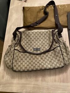 Gucci Baby Changing Bag With Mat And Dust cover