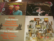 Brahms 4 LP Lot Piano Concertos No 1 2 Szell Double Concerto Isaac Stern No 4 Le