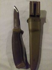 """Frosts Mora of Sweden Green Companion Knife 4""""  Stainless Steel Blade"""