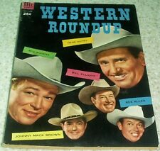 Western Roundup 6, FN+ (6.5) 1954 100 pages! 40% off Guide!