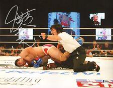 Kazushi Sakuraba Signed 11x14 Photo BAS Beckett COA Pride FC vs Kevin Randleman