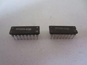 Lot De 2 500808A-B700 16-Pin Ic Processeur Cartes 500-808A-B700