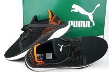 Puma Men s Tsugi Netfit Sneaker 364629 02 Black White Scarlet Men Sz13M US  Eu47 c68386e1e
