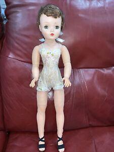 Vintage Madame Alexander CISSY Doll 20' Brunette