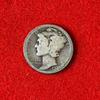 US 1921 Mercury Dime 10C Coin! 87