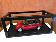 1:18 Autoart Mini Cooper S Convertible Cabriolet 74849 red