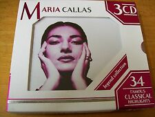 MARIA CALLAS LEGEND COLLECTION 3 CD MINT-