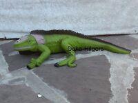 Leguan Figur Echse Skulptur Lebensgroß Waran Gartenfigur Reptil Eidechse Groß