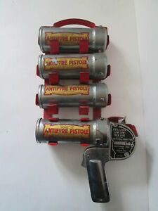 Antifyre Pistole. fire fighting equipment.fire brigade.fire hose.Hose nozzle.
