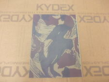 2 mm KYDEX T Sheet 297 X 210 nominal  Rhodesian  Camouflage on Julep