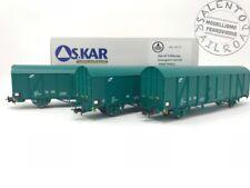 OS.KAR 4213 set 3 carri trasporto auto FS Trenitalia XMPR tipo Hbccqs ep. VI - 1