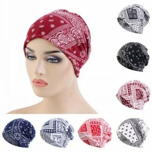 Unisex Printed Multi-Function Hats Scarf Casual Double Layer Keep Warm Cap