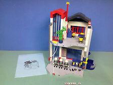 (O3885.2) playmobil Caserne de pompiers centre d'entraînement ref 3885