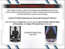 2021 Topps Formula 1 Racing Hobby Box (Presell)