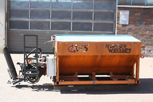 Salzstreuer, Streumaschine Winterdienst Küpper Weisser für UNIMOG (3658)