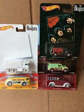 "Hot Wheels Diecast culture pop les Beatles Lot de 5-Hiway Hauler, Misery ""gaz"