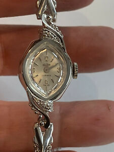 Vintage Vulcain Lady  Cocktail Hand-Wind Mechanical Watch Hours