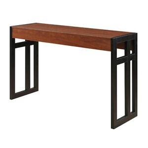 Convenience Concepts Monterey Console Table, Black/Cherry - 131572CH